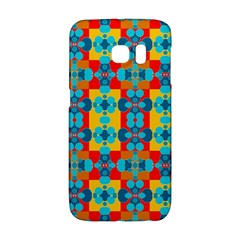 Pop Art Abstract Design Pattern Galaxy S6 Edge