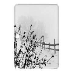 Snow Winter Cold Landscape Fence Samsung Galaxy Tab Pro 12 2 Hardshell Case by BangZart
