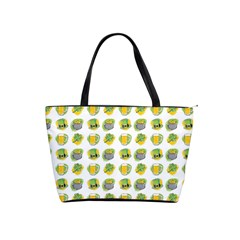 St Patrick S Day Background Symbols Shoulder Handbags by BangZart
