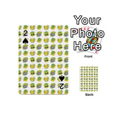 St Patrick S Day Background Symbols Playing Cards 54 (mini)  by BangZart