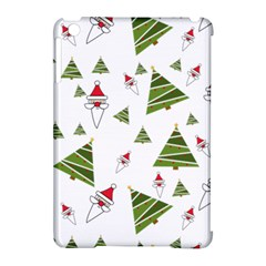Christmas Santa Claus Decoration Apple Ipad Mini Hardshell Case (compatible With Smart Cover)