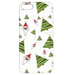 Christmas Santa Claus Decoration Apple Iphone 5 Hardshell Case With Stand