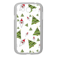 Christmas Santa Claus Decoration Samsung Galaxy Grand Duos I9082 Case (white) by BangZart