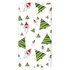 Christmas Santa Claus Decoration Galaxy Note 4 Back Case by BangZart
