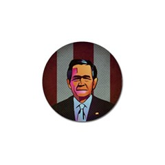 George W Bush Pop Art President Usa Golf Ball Marker (10 Pack)