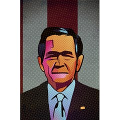 George W Bush Pop Art President Usa 5 5  X 8 5  Notebooks