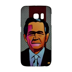 George W Bush Pop Art President Usa Galaxy S6 Edge by BangZart