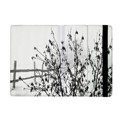 Snow Winter Cold Landscape Fence Apple Ipad Mini Flip Case