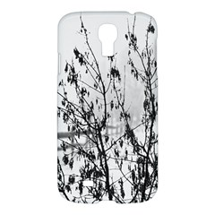 Snow Winter Cold Landscape Fence Samsung Galaxy S4 I9500/i9505 Hardshell Case