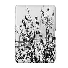 Snow Winter Cold Landscape Fence Samsung Galaxy Tab 2 (10 1 ) P5100 Hardshell Case  by BangZart