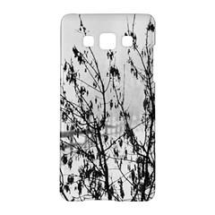 Snow Winter Cold Landscape Fence Samsung Galaxy A5 Hardshell Case