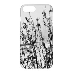 Snow Winter Cold Landscape Fence Apple Iphone 7 Plus Hardshell Case