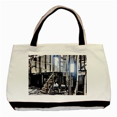 House Old Shed Decay Manufacture Basic Tote Bag by BangZart