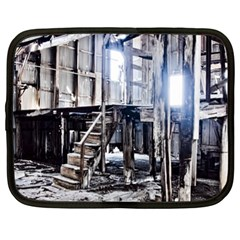 House Old Shed Decay Manufacture Netbook Case (xl)  by BangZart