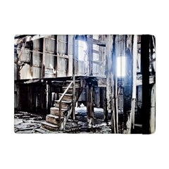 House Old Shed Decay Manufacture Apple Ipad Mini Flip Case