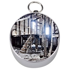House Old Shed Decay Manufacture Silver Compasses by BangZart