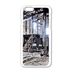 House Old Shed Decay Manufacture Apple Iphone 6/6s White Enamel Case