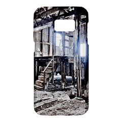 House Old Shed Decay Manufacture Samsung Galaxy S7 Hardshell Case