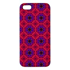 Retro Abstract Boho Unique Apple Iphone 5 Premium Hardshell Case