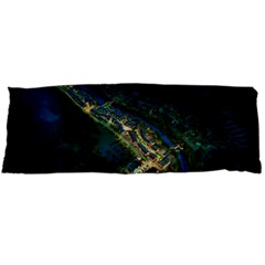 Commercial Street Night View Body Pillow Case Dakimakura (two Sides)