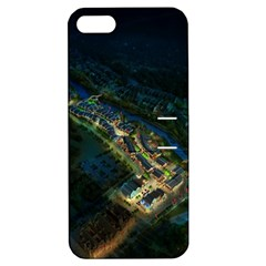 Commercial Street Night View Apple Iphone 5 Hardshell Case With Stand