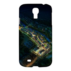 Commercial Street Night View Samsung Galaxy S4 I9500/i9505 Hardshell Case