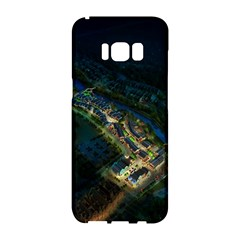 Commercial Street Night View Samsung Galaxy S8 Hardshell Case