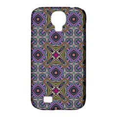 Vintage Abstract Unique Original Samsung Galaxy S4 Classic Hardshell Case (pc+silicone) by BangZart