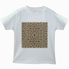 Kaleidoscope Online Triangle Kids White T-shirts