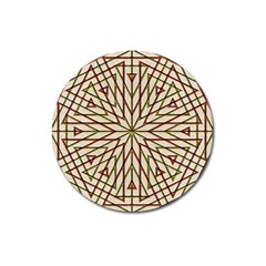 Kaleidoscope Online Triangle Magnet 3  (round) by BangZart