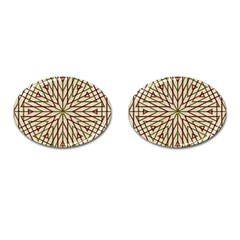 Kaleidoscope Online Triangle Cufflinks (oval) by BangZart
