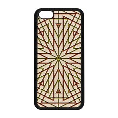 Kaleidoscope Online Triangle Apple Iphone 5c Seamless Case (black) by BangZart