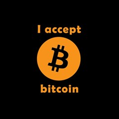 I Accept Bitcoin Magic Photo Cubes by Valentinaart