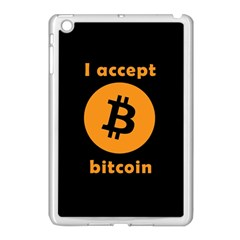 I Accept Bitcoin Apple Ipad Mini Case (white)