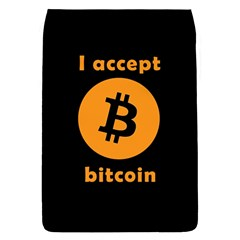 I Accept Bitcoin Flap Covers (l)  by Valentinaart