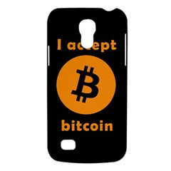 I Accept Bitcoin Galaxy S4 Mini by Valentinaart