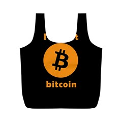 I Accept Bitcoin Full Print Recycle Bags (m)  by Valentinaart