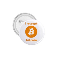I Accept Bitcoin 1 75  Buttons by Valentinaart