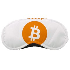 I Accept Bitcoin Sleeping Masks by Valentinaart