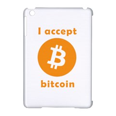 I Accept Bitcoin Apple Ipad Mini Hardshell Case (compatible With Smart Cover) by Valentinaart