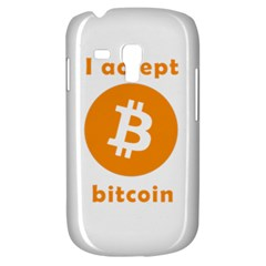 I Accept Bitcoin Galaxy S3 Mini by Valentinaart
