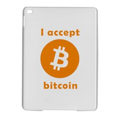 I Accept Bitcoin Ipad Air 2 Hardshell Cases by Valentinaart