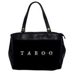 Taboo Office Handbags (2 Sides)  by Valentinaart