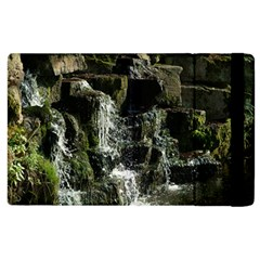 Water Waterfall Nature Splash Flow Apple Ipad 3/4 Flip Case by BangZart