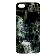Water Waterfall Nature Splash Flow Apple Iphone 5 Premium Hardshell Case