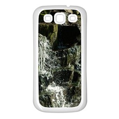 Water Waterfall Nature Splash Flow Samsung Galaxy S3 Back Case (white) by BangZart
