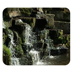 Water Waterfall Nature Splash Flow Double Sided Flano Blanket (small)