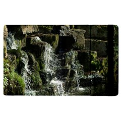 Water Waterfall Nature Splash Flow Apple Ipad Pro 12 9   Flip Case