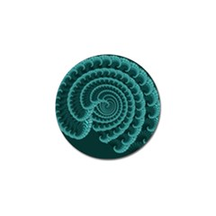 Fractals Form Pattern Abstract Golf Ball Marker by BangZart