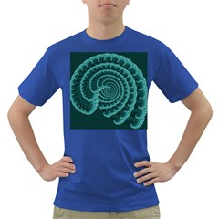 Fractals Form Pattern Abstract Dark T Shirt